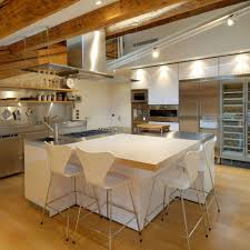 kitchen room 2017 dining kitchen ceiling beams and vent hood
