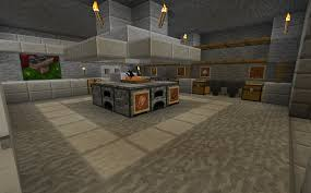 minecraft projects minecraft kitchen with functional food dispensers