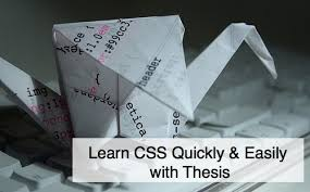 Learn CSS Quickly  amp  Easily with Thesis   WPblogger   WPblogger Learn CSS with the Thesis WordPress theme