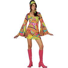 style halloween costumes new 1960s style psychedelic reto go go ladies fancy dress