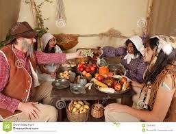 pilgrims on thanksgiving thanksgiving indians and pilgrims women royalty free stock photos