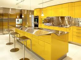 kitchen decorating ideas using pedestal metal modern kitchen