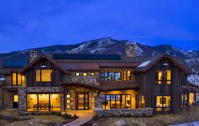 mountain rustic modern whistler mountain style exteriors