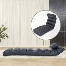 Chaise Lounge With Sofa Bed by Homcom Sofa Couch Chaise Lounge Living Room Loveseat Lounger