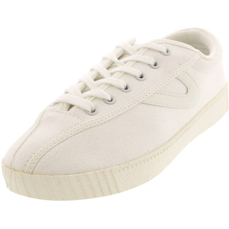 Tretorn Nylite Plus Vintage White / Ankle-High Canvas Sneaker 6M