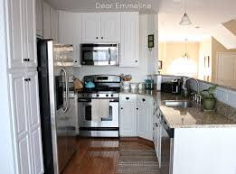decorating dear lillie kitchen with white kitchen cabinets and