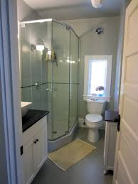 Small Shower Bathroom Luxury Bathroom Glass Corner Shower Room With Wonderful White