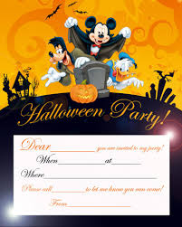 halloween birthday invitations templates festival collections