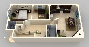 House Plan Search by One Bedroom House Plans 3d Google Search Small House Plans