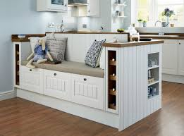 create a bespoke seating area with our burford tongue and groove the perfect feature in your shaker style kitchen from more kitchen design ideas and inspiration take a look at howdens