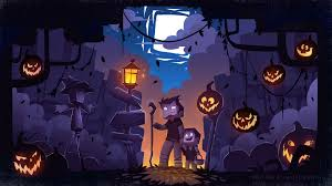 minecraft halloween background by john b imgur