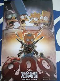 the simpsons halloween of horror the simpsons treehouse of horror 2016 comic con 11x17 promo poster