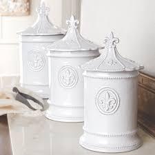 28 fleur de lis kitchen canisters fleur de lis lidded jars fleur de lis kitchen canisters mud pie fleur de lis 3 piece kitchen canister set