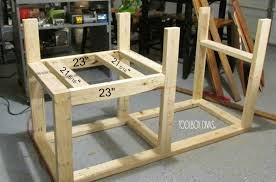 Plans For Building A Wooden Workbench by Table Saw Workbench With Wood Storage