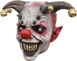 halloween mask costumes masque de clown bouffon creepy clown