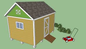 Diy Garden Shed Plans Free by Storage Shed Plans Howtospecialist How To Build Step By Step