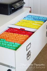 25 best file cabinet organization ideas on pinterest filing
