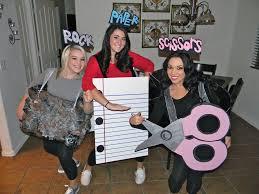 halloween costume rock paper scissors party ideas