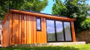 Sips Cabin Garden Room Using Western Red Cedar No 2 Clear U0026 Better Tgv