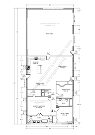 House For Plans by Barndominium Floor Plans For Planning Your Barndominium 5 Bedroom