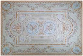 Green And Beige Rug What Is An Aubusson Rug