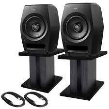 pioneer home theater 2 pioneer dj rm 07 professional studio monitor speakers with mini