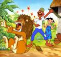 นิทานภาษาอังกฤษแปลไทย (FUNNY FABLES): นิทานอีสปเรื่อง ราชสีห์มีรัก ...