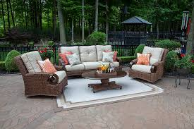 Wicker Outdoor Furniture Sets by High End Luxury Patio Furniture By Open Air Lifestyles