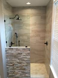 new shower replaced the old jacuzzi tub my bathroom pinterest