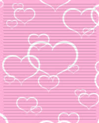 Paper With Writing Free Valentines Stationery Paper Printable Writing Paper