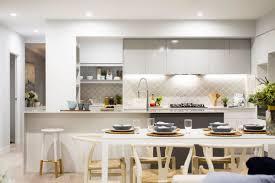 kitchen kitchen features grey white cabinet with tiered grey