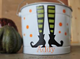Halloween Tin Can Crafts Trick Or Treat Halloween Ideas Pinkwhen
