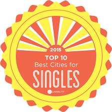 Best Cities for Singles   Livability