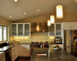 Stainless Steel Kitchen Pendant Light by Kitchen Pendant Light Fixtures Gray Laminated Floor White