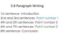 Writing a   paragraph essay   drugerreport    web fc  com