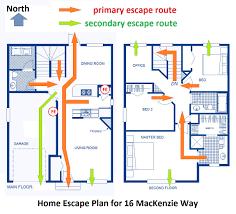 15 home escape plans nfpa make a home fire escape plan opulent