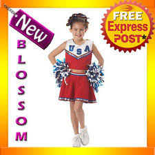Patriotic Halloween Costumes Girls U0027 Cheerleader Costumes Ebay