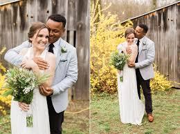 intimate backyard wedding in higganum cassidy u0026 dom