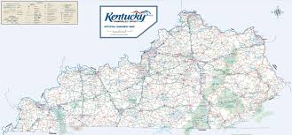 State Of Tennessee Map by Large Detailed Road Map Of Kentucky