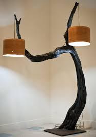 huge floor lamp with tree base id lights