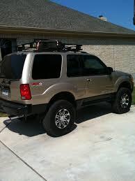 Ford Explorer Roof Rack - craniac 2001 ford explorer sport specs photos modification info