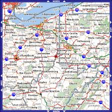 Vegas Monorail Map Wheeling West Virginia Map Virginia Map