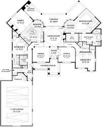 lady la salette ranch home plans courtyard house plans