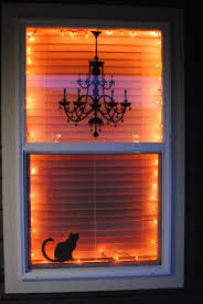 how to look scary for halloween 35 ideas to decorate windows with silhouettes on halloween