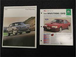 1985 ford mustang svo for sale classiccars com cc 922212