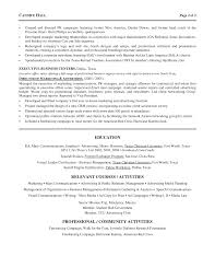 Resume Sample Director by Marketing Director Resume