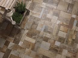 cobblewood exterior floor tiles with wood effect ceramica