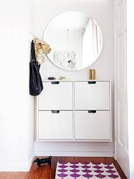 Wall Mounted Cupboards Ditch The Clutter 30 Minimalist Entryways Clutter Mirror Hooks