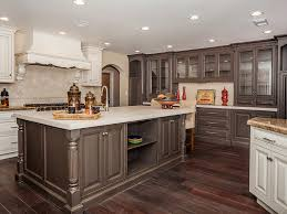two tone painted kitchen cabinets the ideas of decorating