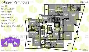 Penthouse Floor Plans Grovenor House Floor Plans